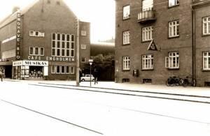 Borgbjergsvej 1960'erne