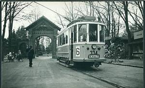 Linie 16 ved Vester Kirkegård