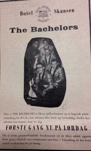The Bachelors, Ebeltoft 1963