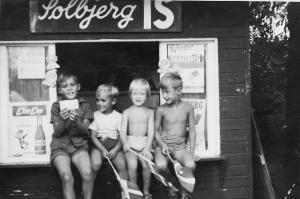 Ishuset i Valbyparken 1960