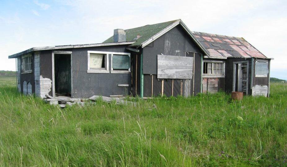 Ekuk school house Alaska